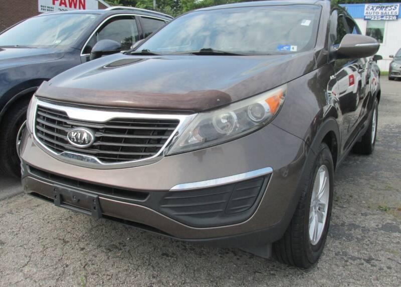 2011 Kia Sportage for sale at Express Auto Sales in Lexington KY