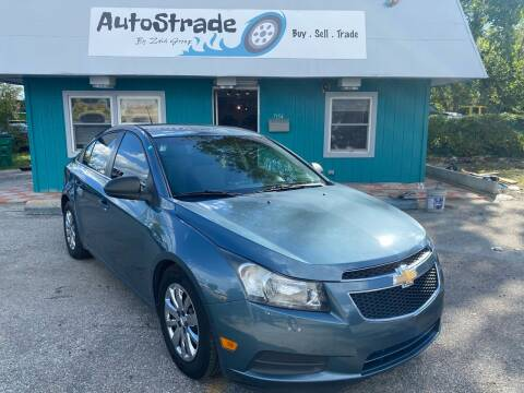 2012 Chevrolet Cruze for sale at Autostrade in Indianapolis IN