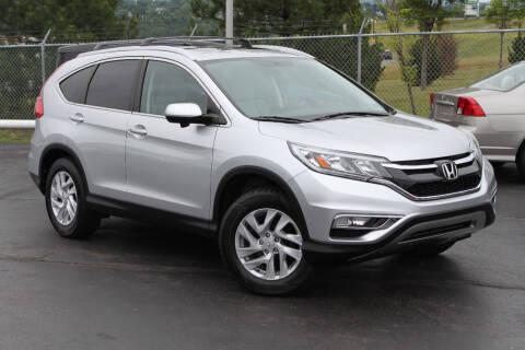 2016 Honda CR-V for sale at Dan Paroby Auto Sales in Scranton PA