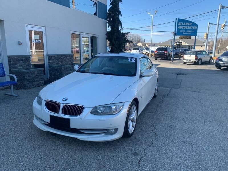 2012 BMW 3 Series for sale at Atlantic AutoCenter in Cranston RI