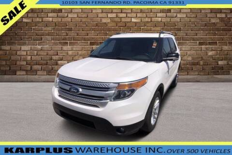 2015 Ford Explorer for sale at Karplus Warehouse in Pacoima CA