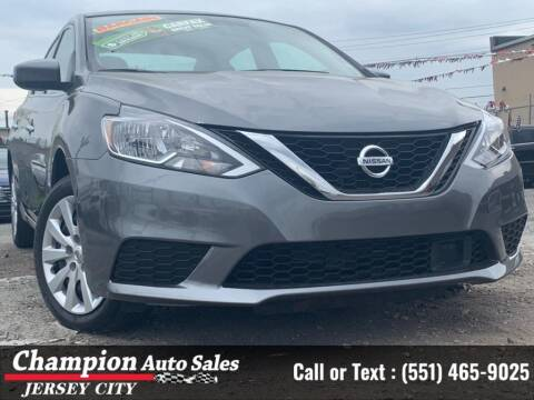 2019 Nissan Sentra for sale at CHAMPION AUTO SALES OF JERSEY CITY in Jersey City NJ