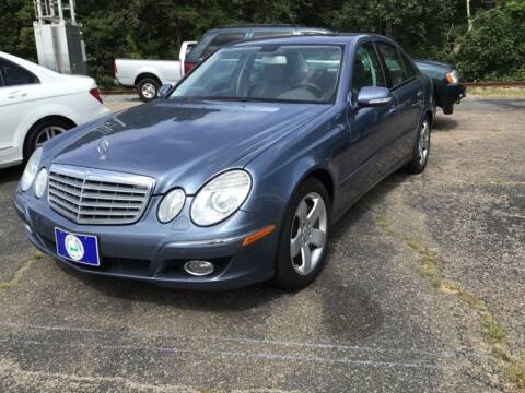 2007 Mercedes-Benz E-Class for sale at Willow Street Motors in Hyannis MA
