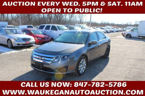 2011 Ford Fusion for sale at Waukegan Auto Auction in Waukegan IL