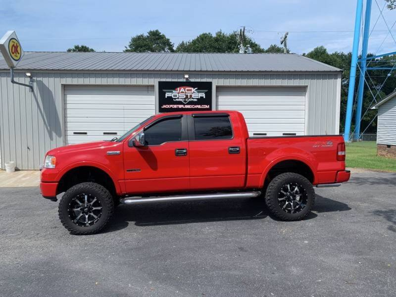 2007 Ford F-150 for sale at Jack Foster Used Cars LLC in Honea Path SC