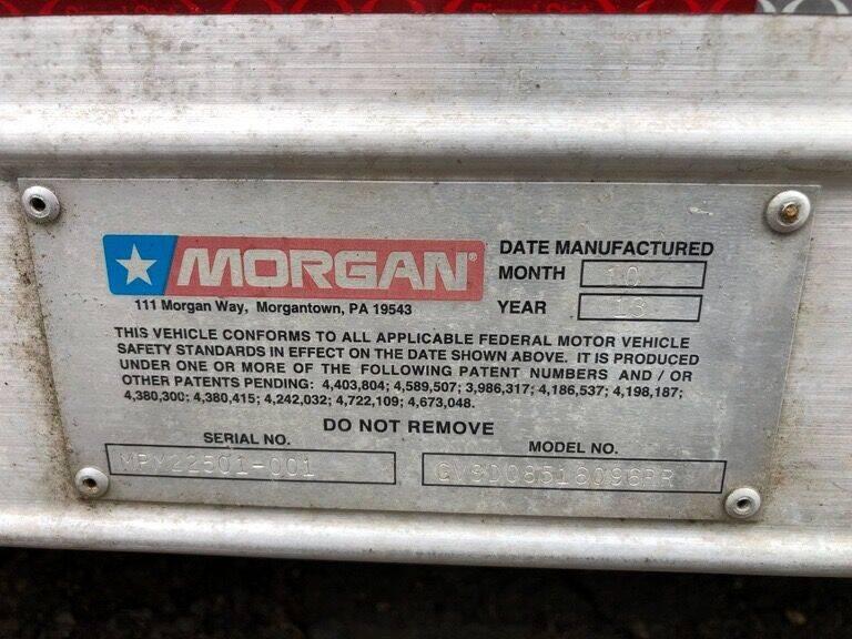 2013 Morgan 16Ft Van Body  - Hartford CT