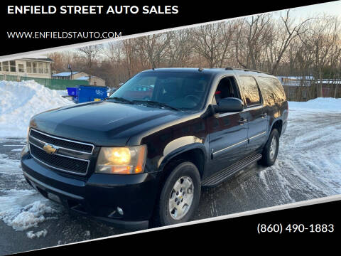 2007 Chevrolet Suburban for sale at ENFIELD STREET AUTO SALES in Enfield CT