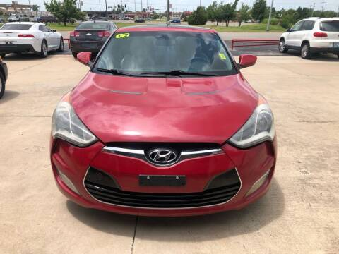 2012 Hyundai Veloster for sale at Moore Imports Auto in Moore OK