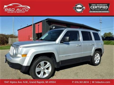 2014 Jeep Patriot for sale at B&D Auto Sales Inc in Grand Rapids MI
