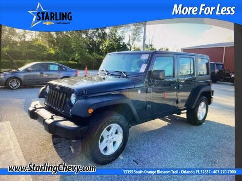 2016 Jeep Wrangler Unlimited for sale at Pedro @ Starling Chevrolet in Orlando FL