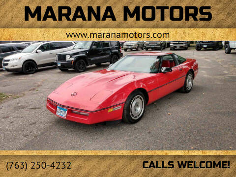 1987 Chevrolet Corvette for sale at Marana Motors in Princeton MN