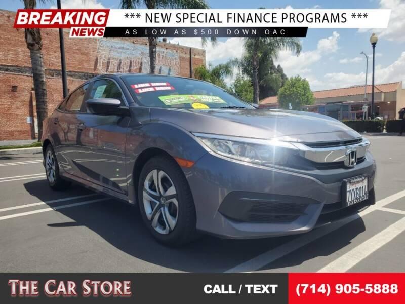 2017 Honda Civic for sale at The Car Store in Santa Ana CA