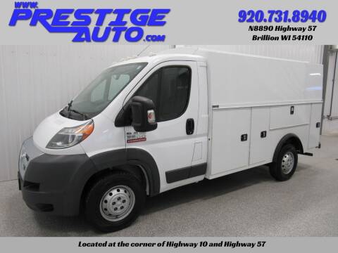 2017 RAM ProMaster Cutaway Chassis for sale at Prestige Auto Sales in Brillion WI