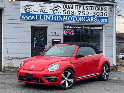 2015 Volkswagen Beetle Convertible for sale at Clinton MotorCars in Shrewsbury MA