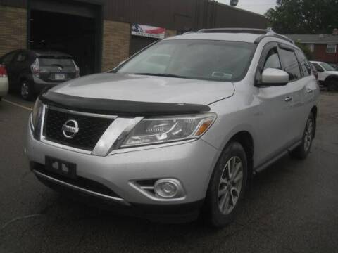 2013 Nissan Pathfinder for sale at ELITE AUTOMOTIVE in Euclid OH