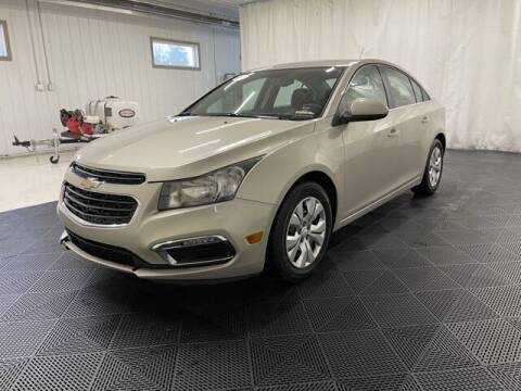 2016 Chevrolet Cruze Limited for sale at Monster Motors in Michigan Center MI