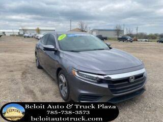 2019 Honda Insight for sale at BELOIT AUTO & TRUCK PLAZA INC in Beloit KS