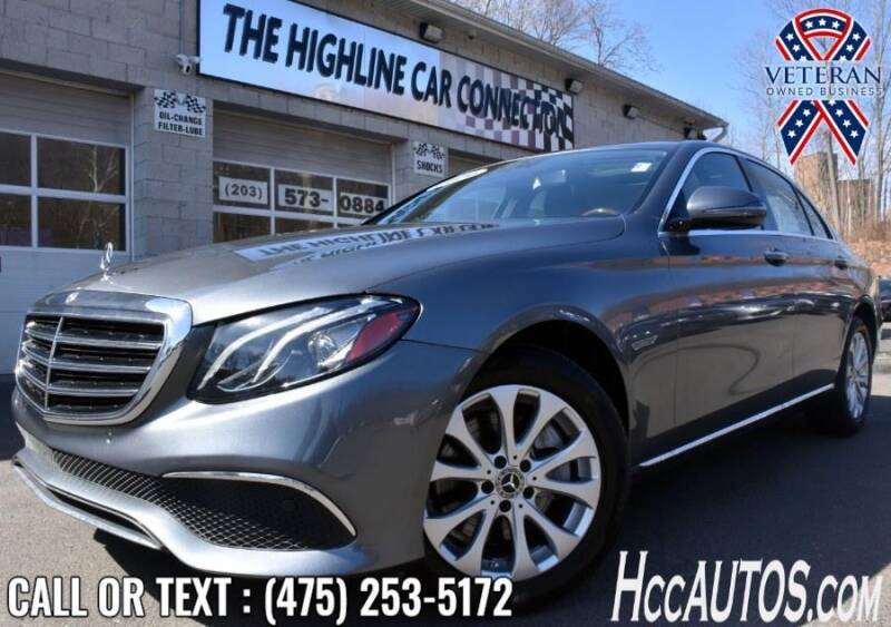 2018 Mercedes-Benz E-Class for sale at The Highline Car Connection in Waterbury CT