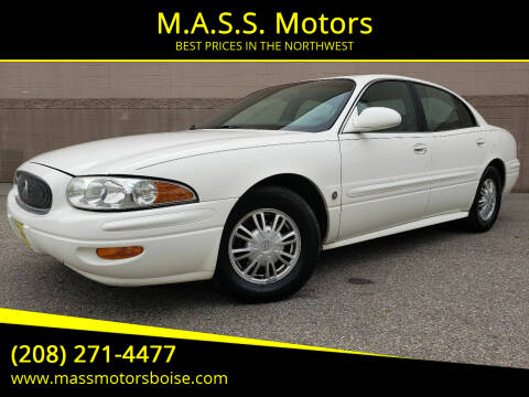 2003 Buick LeSabre for sale at M.A.S.S. Motors in Boise ID