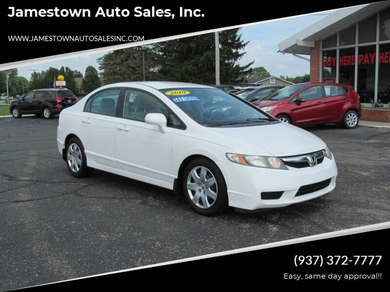 2010 Honda Civic for sale at Jamestown Auto Sales, Inc. in Xenia OH