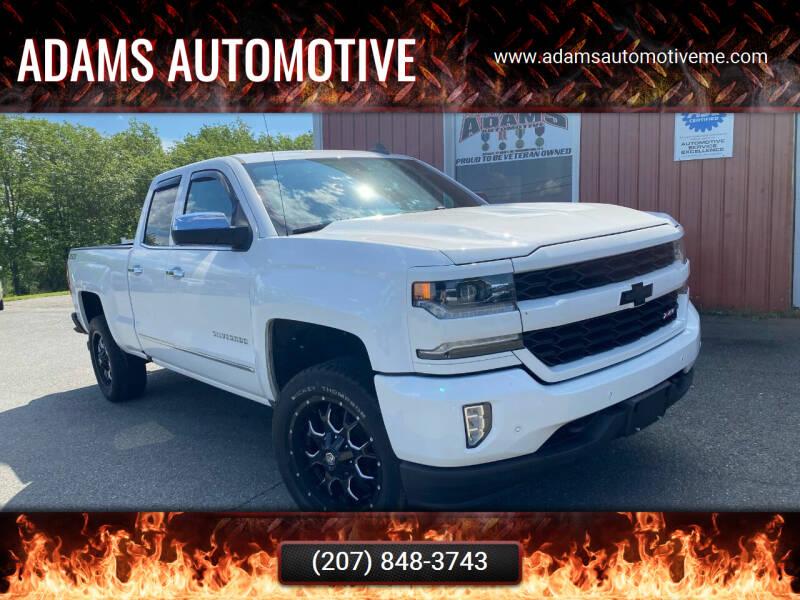 2018 Chevrolet Silverado 1500 for sale at Adams Automotive in Hermon ME