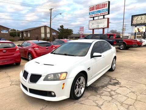 2009 Pontiac G8 for sale at Car Gallery in Oklahoma City OK