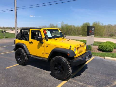 2011 Jeep Wrangler for sale at Fox Valley Motorworks in Lake In The Hills IL
