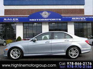 2014 Mercedes-Benz C-Class for sale at Highline Group Motorsports in Lowell MA