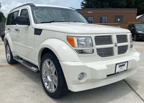 2008 Dodge Nitro for sale at DYNAMIC AUTO GROUP in Houston TX