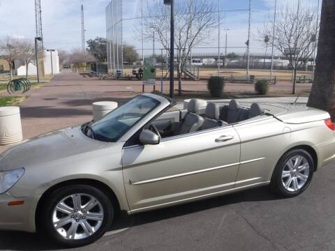 2010 Chrysler Sebring for sale at J & E Auto Sales in Phoenix AZ