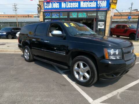 2012 Chevrolet Suburban for sale at West Oak in Chicago IL