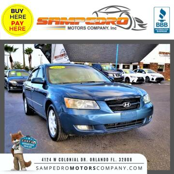 2006 Hyundai Sonata for sale at SAMPEDRO MOTORS COMPANY INC in Orlando FL