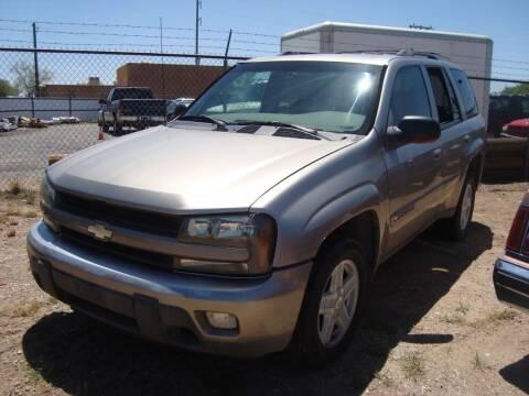 2002 Chevrolet TrailBlazer for sale at One Community Auto LLC in Albuquerque NM