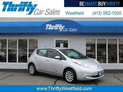 2015 Nissan LEAF for sale at Thrifty Car Sales Westfield in Westfield MA