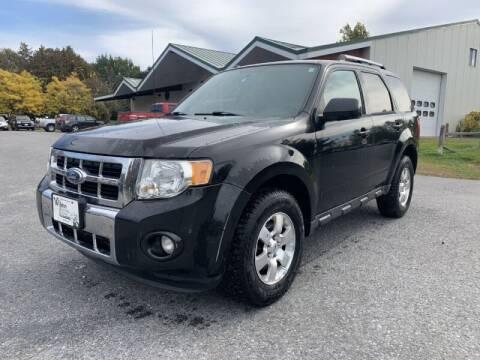2011 Ford Escape for sale at Williston Economy Motors in South Burlington VT