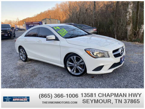 2014 Mercedes-Benz CLA for sale at Union Motors in Seymour TN