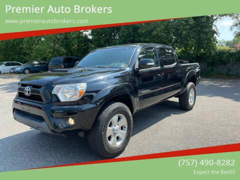 2015 Toyota Tacoma for sale at Premier Auto Brokers in Virginia Beach VA