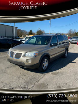 2006 Pontiac Montana SV6 for sale at Sapaugh Classic Joyride in Salem MO