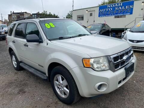2008 Ford Escape for sale at Noah Auto Sales in Philadelphia PA
