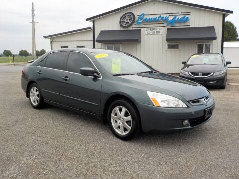 2005 Honda Accord for sale at Country Auto in Huntsville OH