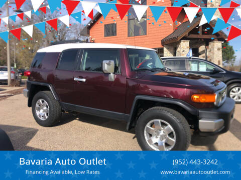 2007 Toyota FJ Cruiser for sale at Bavaria Auto Outlet in Victoria MN