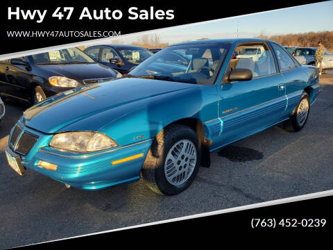 1993 Pontiac Grand Am for sale at Hwy 47 Auto Sales in Saint Francis MN