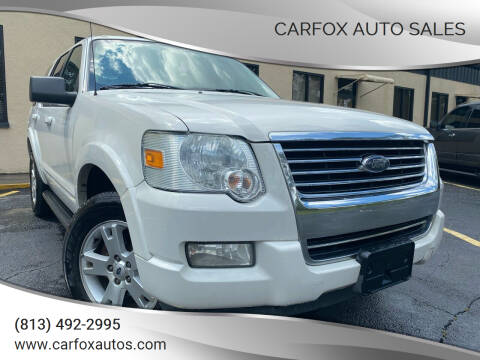 2010 Ford Explorer for sale at Carfox Auto Sales in Tampa FL