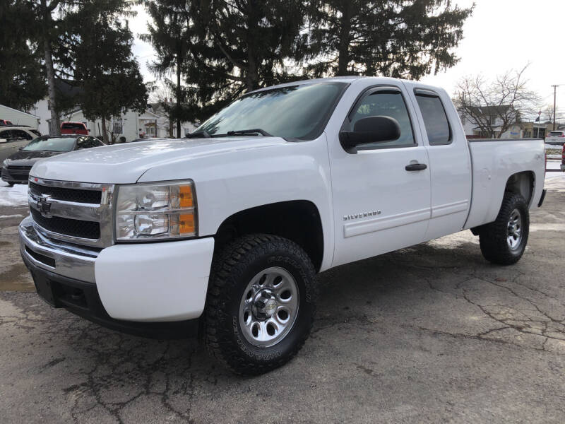 2011 Chevrolet Silverado 1500 for sale at Jim's Hometown Auto Sales LLC in Byesville OH
