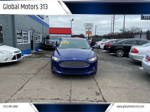 2013 Ford Fusion for sale at Global Motors 313 in Detroit MI