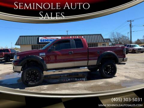 2006 Ford F-150 for sale at Seminole Auto Sales in Seminole OK