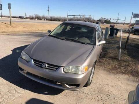 2001 Toyota Corolla for sale at Car Solutions llc in Augusta KS