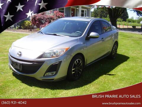 2010 Mazda MAZDA3 for sale at Brush Prairie Auto Sales in Battle Ground WA