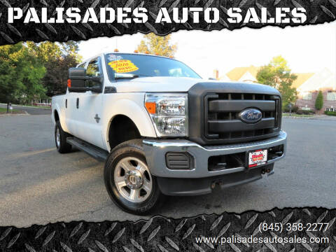 2016 Ford F-350 Super Duty for sale at PALISADES AUTO SALES in Nyack NY