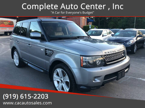 2012 Land Rover Range Rover Sport for sale at Complete Auto Center , Inc in Raleigh NC
